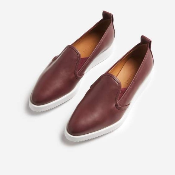 807b5e49a34 Everlane Shoes - Everlane Leather Street Shoe in Oxblood